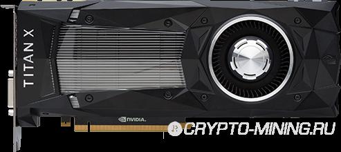 Nvidia Titan X (PASCAL) для майнинга. Обзор видеокарты, хешрейт.